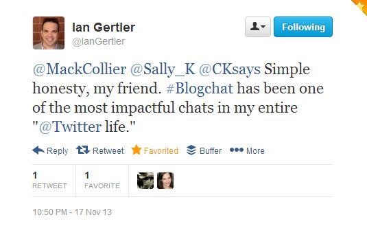 #BlogchatTweetIan