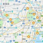 紅葉,東京,マップ