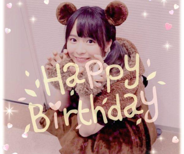 なるちゃん(倉野尾成美)誕生日おめでとう♪(^ω^)