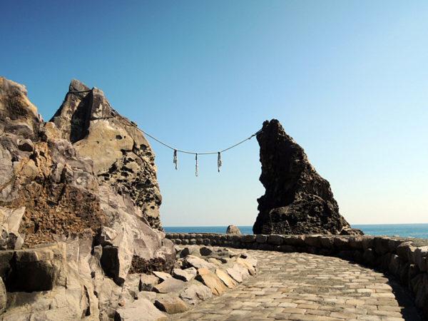夫婦岩、日和佐道路、薬王寺から室戸岬