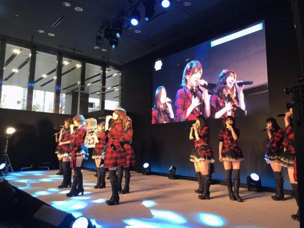 AKB48 ミニライブ@みんなのパチンコフェス,秋葉原