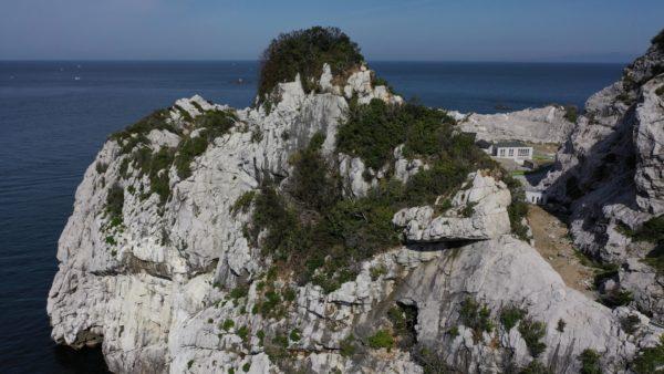 白崎海洋公園~絶景~白い石灰岩の岩山~空撮~岬めぐり~