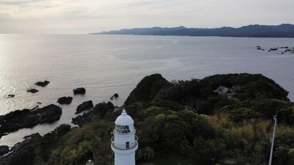 ~潮岬灯台、和歌山~絶景【空撮】ドローン DJI Mavic2 2019.04