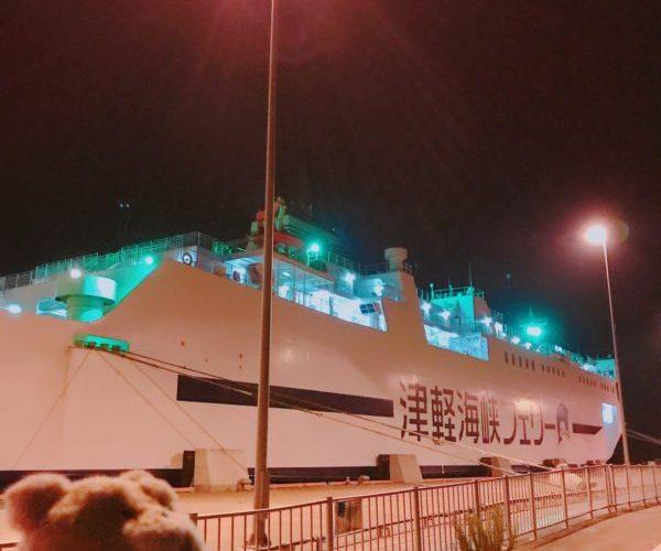 津軽海峡フェリー,青森~函館,ブルーマーメイド,船内のようす,北海道2019紅葉ツアー