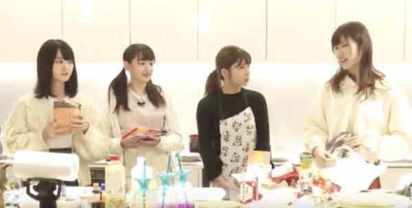 ~シミズキッチン~AKB48,チーム8,清水麻璃亜,新メンバーと料理の配信
