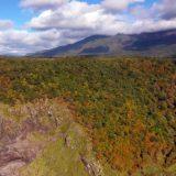 知床公園線の断崖絶壁【絶景~空撮】北海道~紅葉2019ドライブ