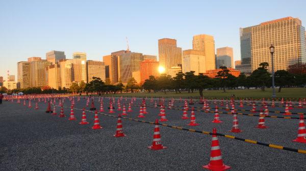 【皇居・東京】大嘗宮を見学に行ったら皇居にコーン畑ができていた、 紅葉めぐり東京2019