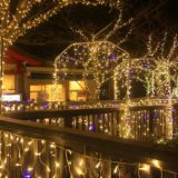 【江ノ島】展望広場のイルミネーションと湘南港の夜景~シーキャンドルをめざせ(1)~神奈川県