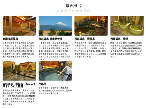 【温泉・静岡県】極楽湯 三島店・露天風呂が多く深夜営業、ありがたい!