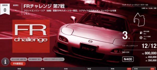 GTsport 攻略 2020年2月 アップデート「FR チャレンジ」第6戦、第7戦 トヨタ 86