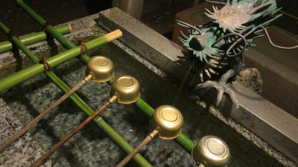 【神社】手水舎には水があって当然でしょう