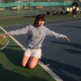 【テニス #1】ひっさしぶりのテニス 4時間 みっちり練習と試合と テニス再開