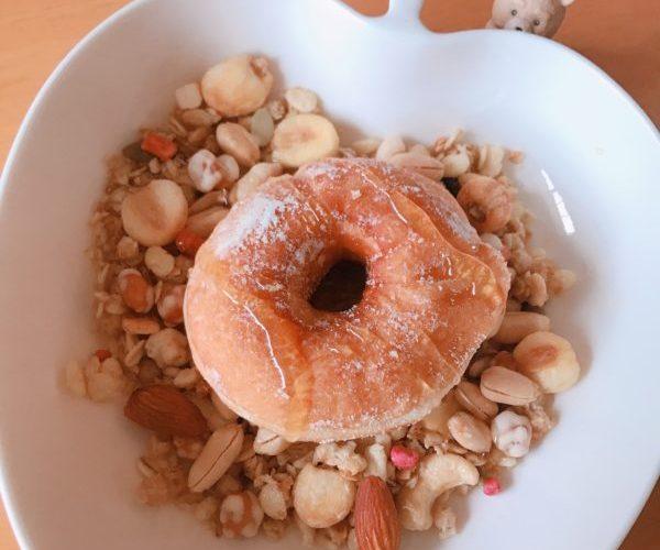 【ドーナツ】神戸屋 ミニと言っても十分でかいドーナッツ