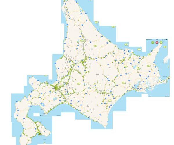 【ハイドラCP巡り】北海道のチェックポイントの緑化状況 2020.6.28現在