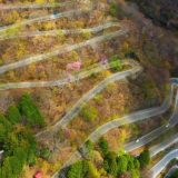 「いろは坂」を空から眺めてみた 栃木県 日光【絶景ドライブ 100選】48のヘアピンカーブ【ドローン 空撮 Mavic 2 Pro】