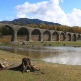 タウシュベツ川橋梁、行き方、事務所で鍵を借りて35キロ走る、ダートあり、徒歩あり、解説【北海道】2020年