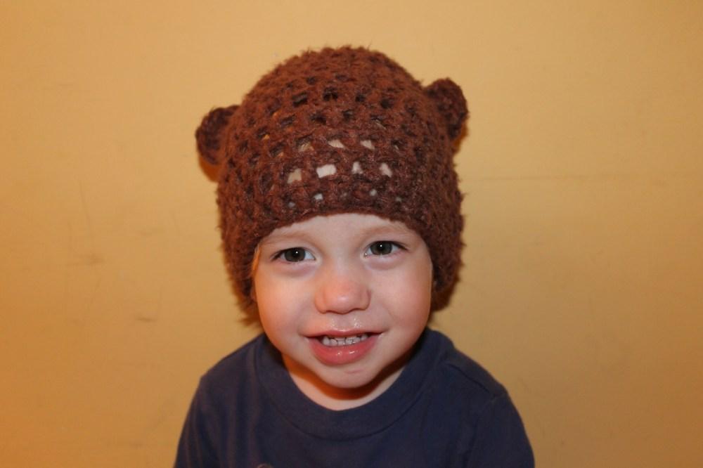 Handmade Day #3: The Baby Bear Hat
