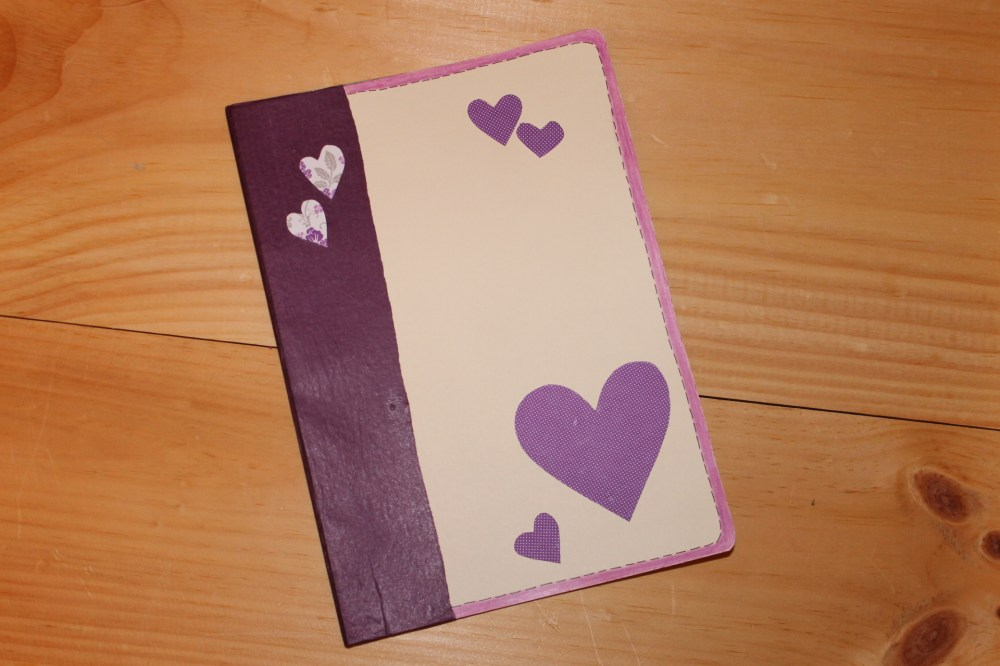 Handmade Day #15: Heart Book (Altered Journal)