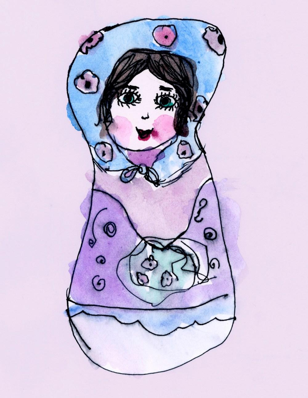 Matryshka by Rosie, age 7