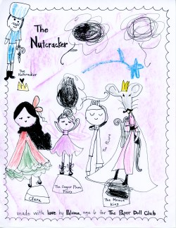 Paper Doll Club Nutcracker