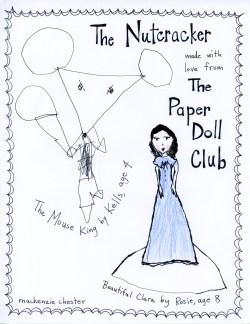 Nutcracker paper doll club