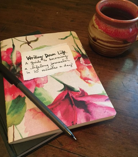 how to journal, free pdf booklet by Mackenzie Chester