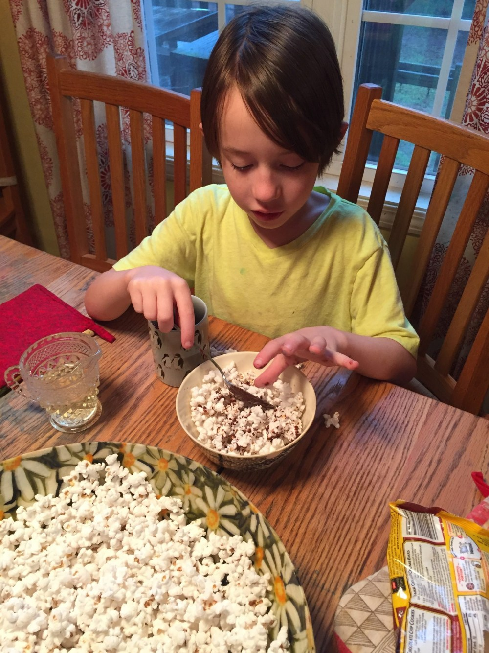 Create-a-Flavor Popcorn Contest, Creative Family Idea Box, mackenzie chester, creative family culture