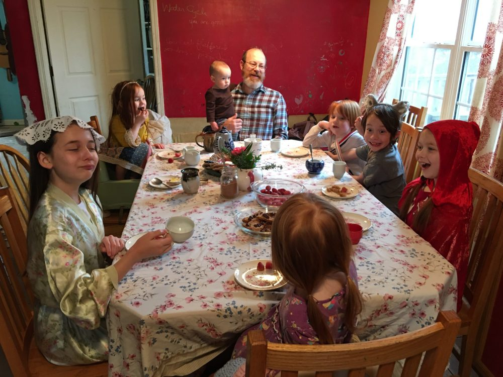 Instant Dress-Up Family Tea Party