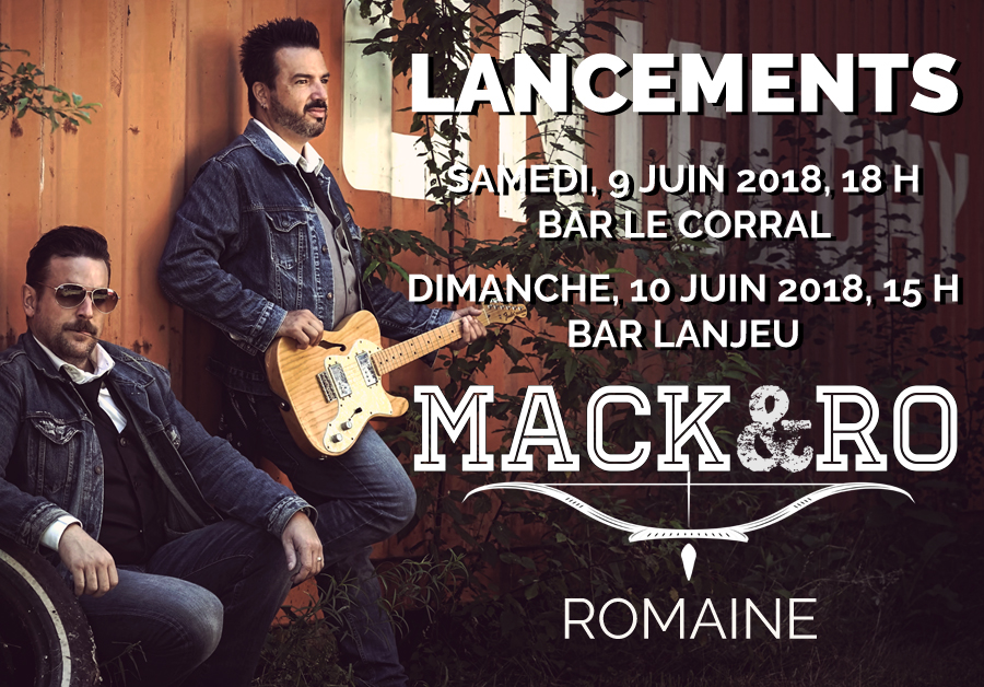 Mack et Ro - LANCEMENTS de l'album Romaine