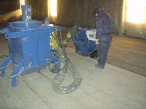 Shotblasting blastrac contractor services website
