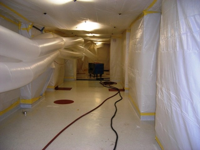 Concrete surface preparation contractor services by The MACK Group, LLC.