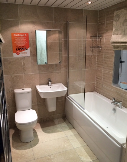 Ayrshire bathrooms delivered   installed from our Ayr showroom Bathroom Packages Ayrshire