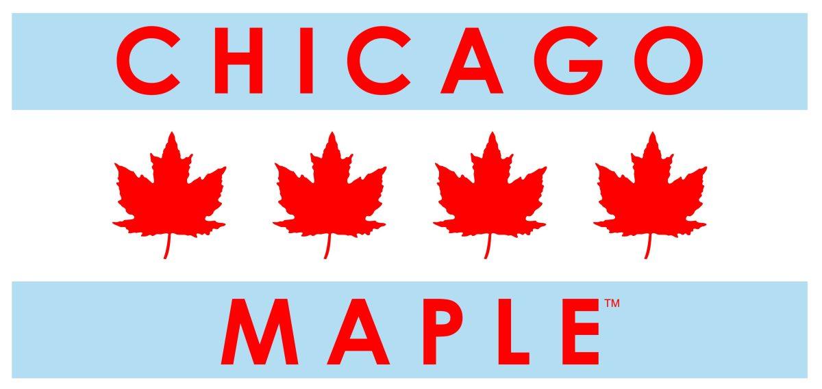 Chicago Maple syrup logo