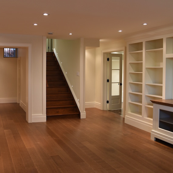 Toronto Basement Renovation MacKneson Design Inc