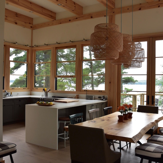 Kitchen Lake of the Woods MacKneson Design Inc