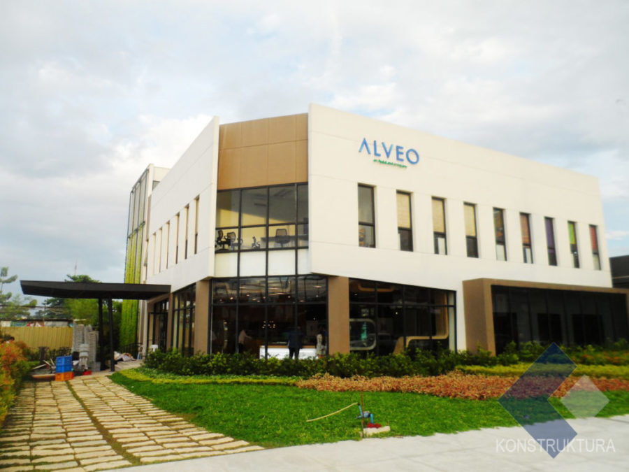 Alveo Showroom Vertis North