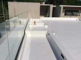 Sarnafil G410-15L fully adhered waterproofing system