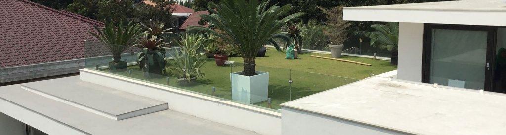 Sarnafil roof garden