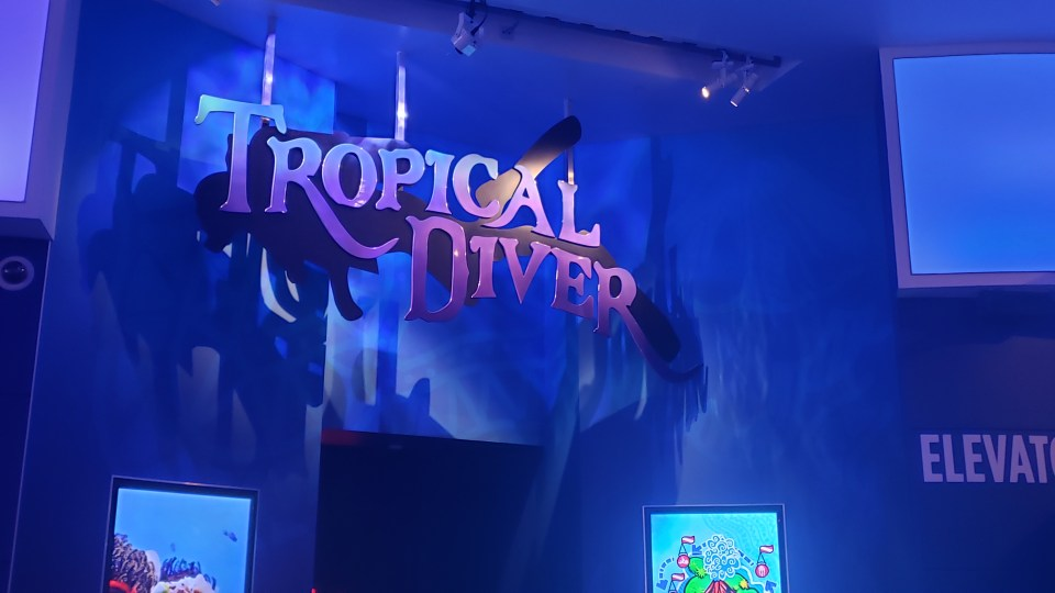 Georgia Aquarium Tropical Diver