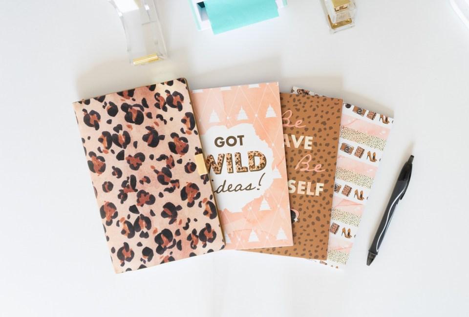 animal print travelers notebooks