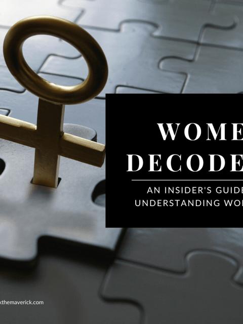 Woman symbol puzzle key