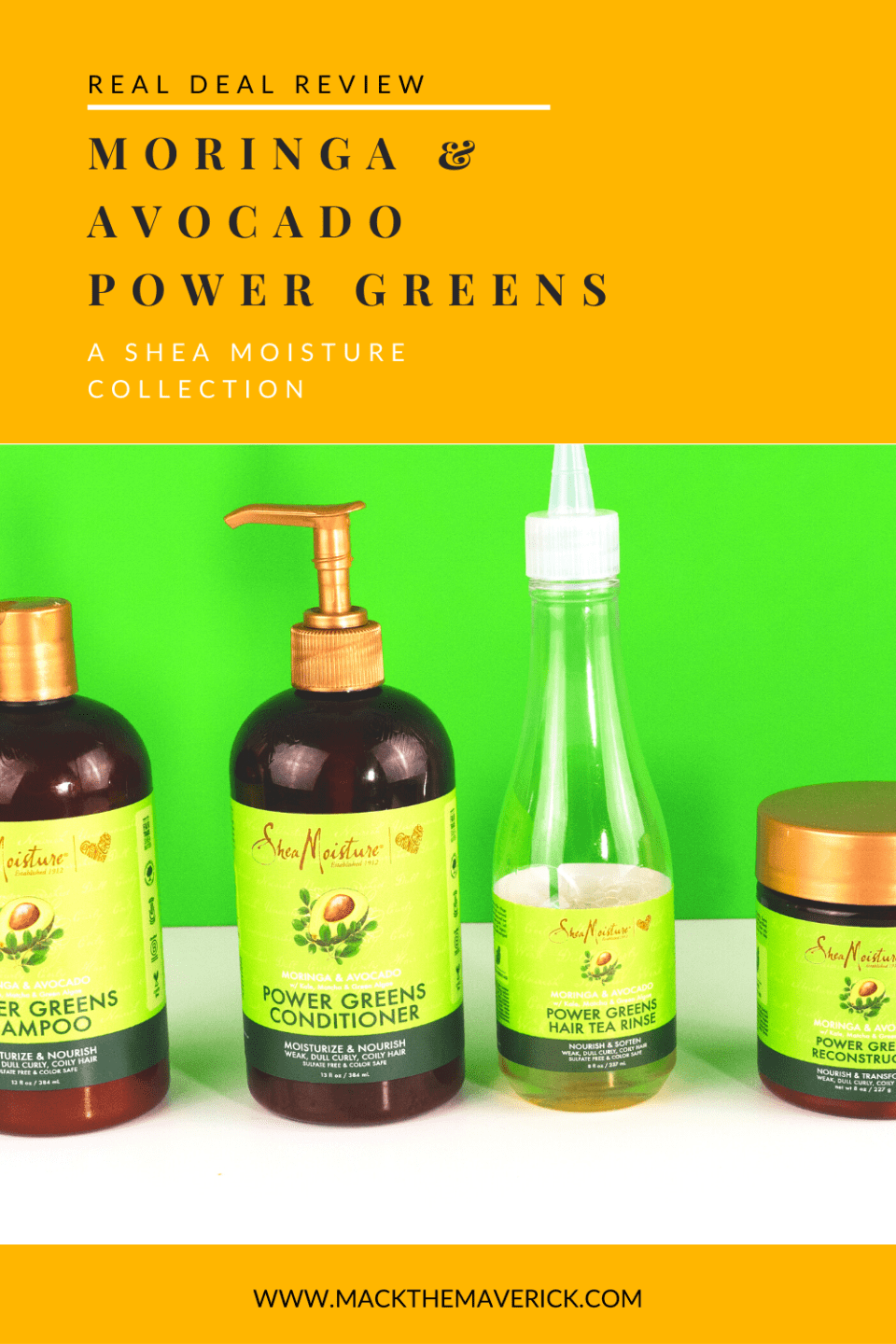 Shea Moisture Moringa & Avocado Power Greens Collection
