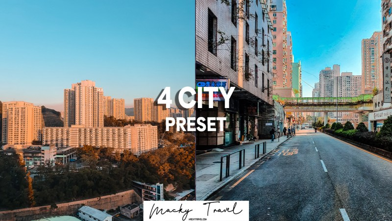 free dng xmp city lightroom presets