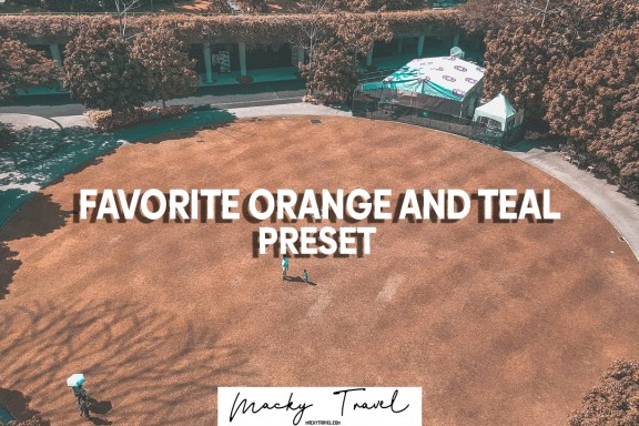 free dng xmp orange and teal lightroom mobile presets