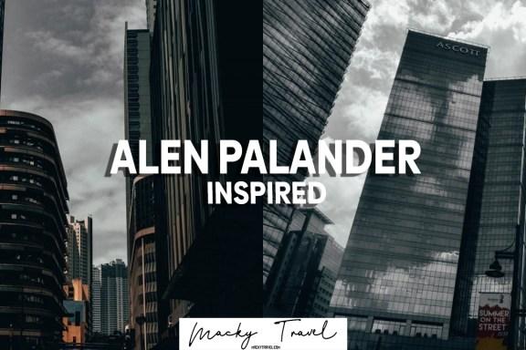 alen palander inspired preset dng xmp mobile