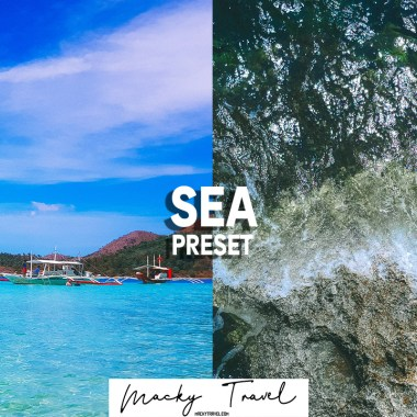 free sea preset dng xmp lightroom