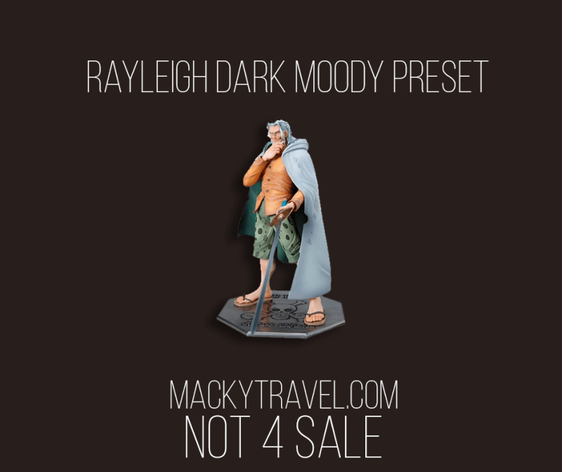 Rayleigh Dark Moody Lightroom Mobile Preset