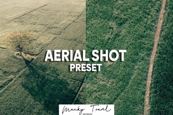 aerial shot lightrooom presets