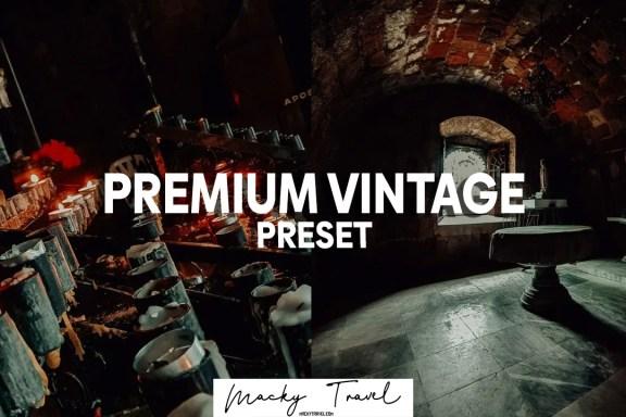 premium vintage lightroom presets
