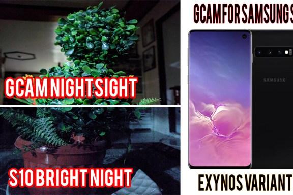 GCAM NIGHT SIGHT S10 EXYNOS